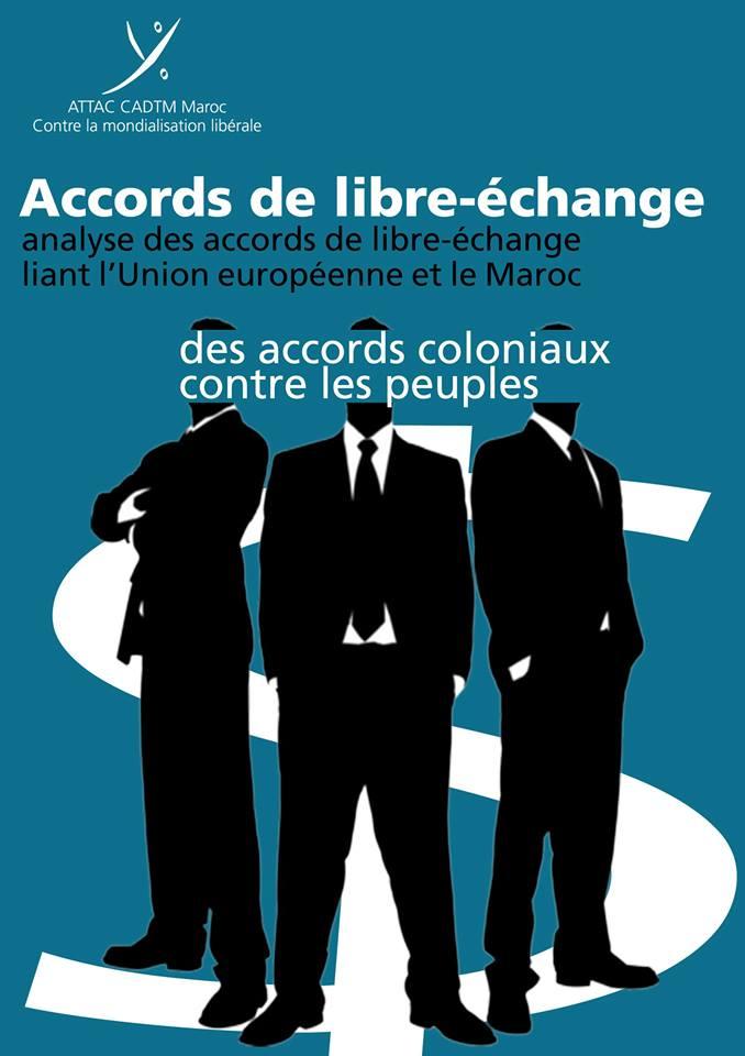 Attac Maroc: un nouveau livre sur les accords de libre échange