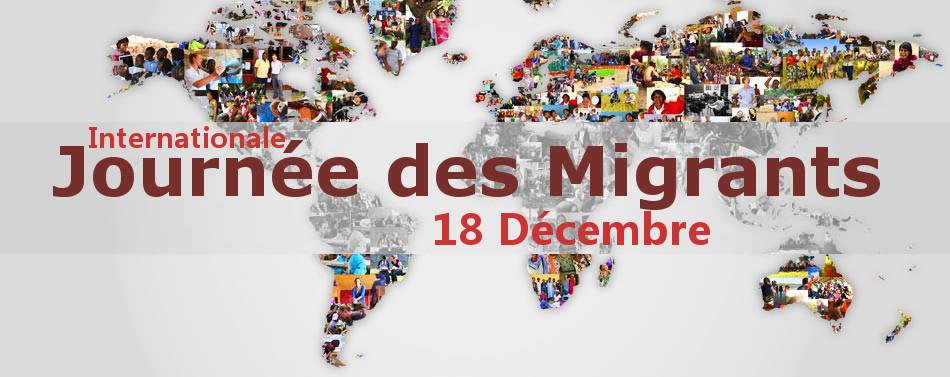 Communiqué à l'occasion de la Journée internationale des migrants