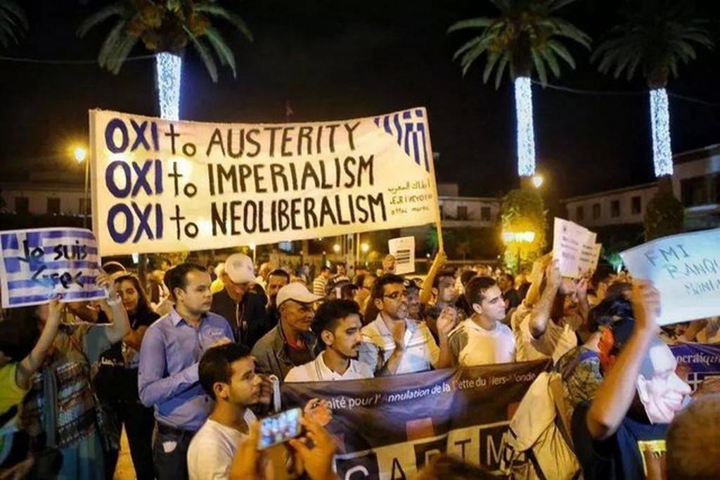 Solidarités de Rabat à Athènes