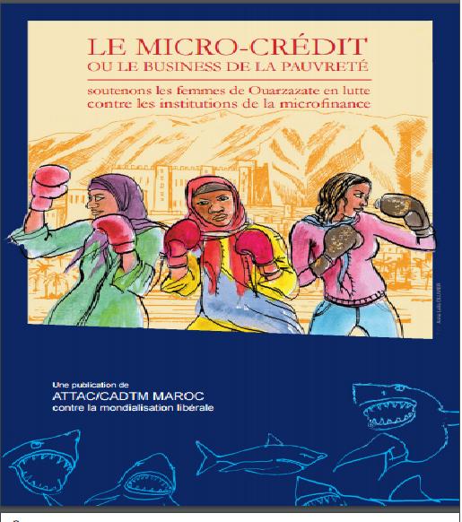 Brochure : LE MICRO-CRÉDIT OU LE BUSINESS DE LA PAUVRETÉ