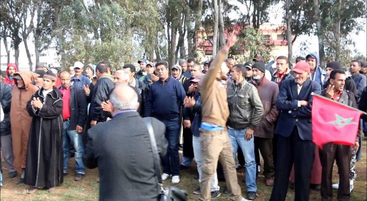 Soutien aux habitant.e.s de Douar Sbita en lutte contre l'expropriation de leur terre