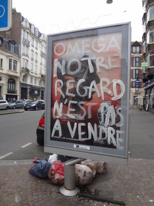 Appel international contre la publicité et le consumérisme dans l'espace public