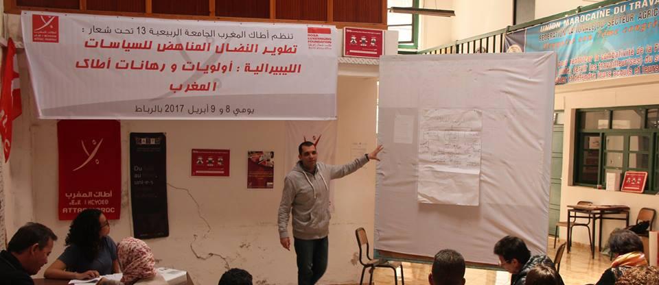 Face aux dominants, ATTAC Maroc répond par la réflexion et l'action