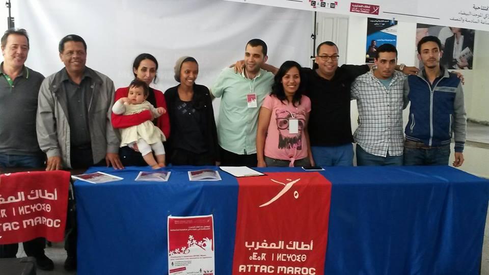 Communiqué final du sixième congrès national d'ATTAC CADTM Maroc
