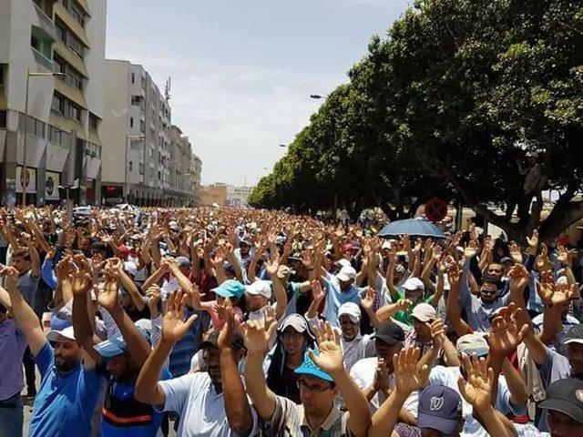 ATTAC CADTM Maroc appelle à une plus large solidarité avec les luttes en cours au Maroc
