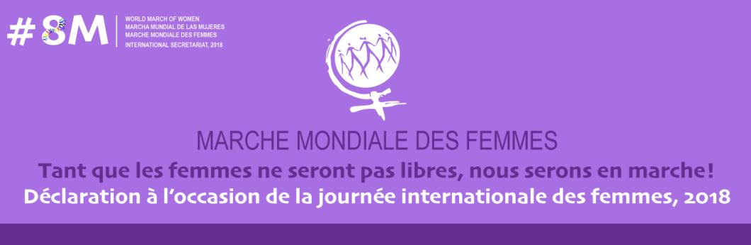 Déclaration à l'occasion de la journée internationale des femmes, 2018