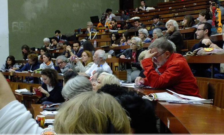 صورة Les peuples unis ne seront jamais vaincus ! Déclaration de AMS au FSM Tunis 2015