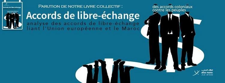 صورة كتاب-دراسة جديدة لاطاك المغرب حول اتفاقيات التبادل الحر