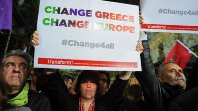 صورة مداخلة إريك توسان لتقديم التقرير التمهيدي للجنة تقصي الحقيقة في الدين العمومي اليوناني أمام البرلمان اليوناني يوم 17 يونيو 2015.