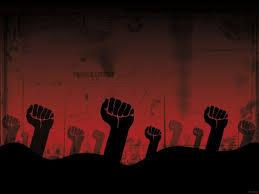 صورة كل الدعم لنضالات الطبقة العاملة المغربية، كلنا إلى مسيرة العمال ضد سياسات دولة رأسالمال