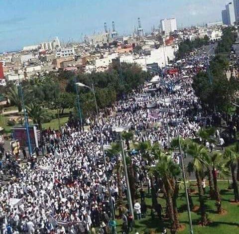 صورة معركة الاساتذة المتدربين معركة كل الشباب المغربي صيانة انتصارها ضمانة لمستقبل النضال الظافر ضد السياسات الليبرالية
