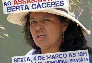 صورة الهندوراس: مستنقع تصفية النشطاء البيئيين/ات