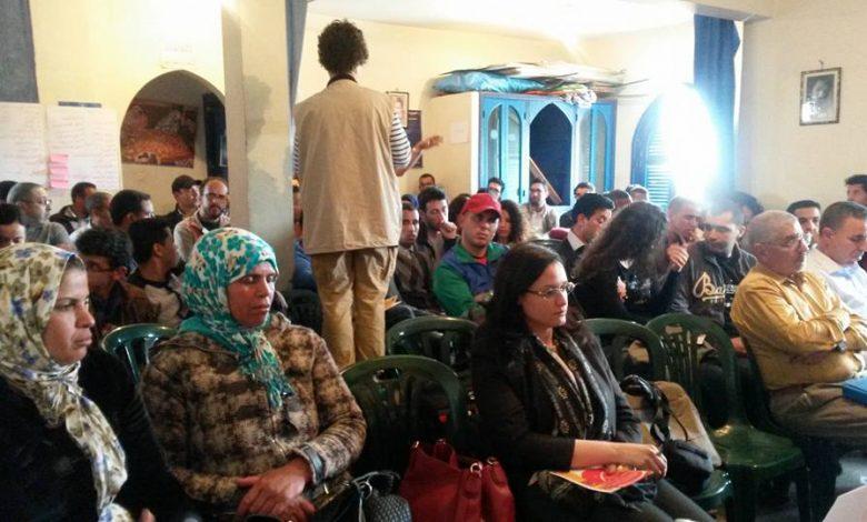 صورة أطاك المغرب تتحدى منع السلطات وتكسب رهان إنجاح أشغال الجامعة الربيعة الثانية عشر بمراكش