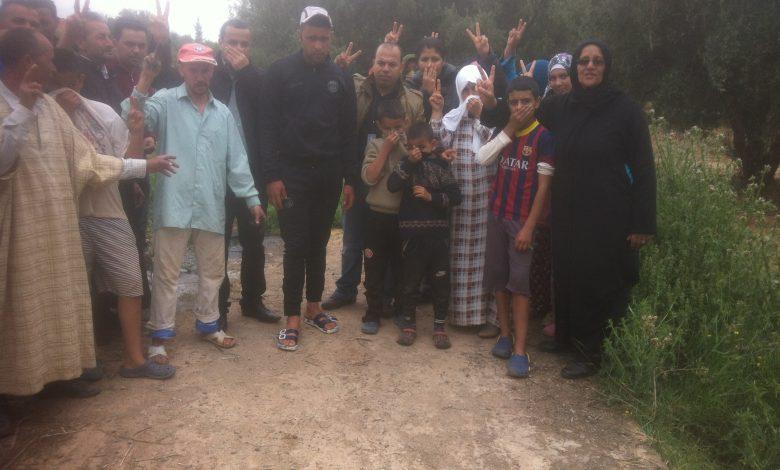 صورة تقريرعن زيارة للوقوف على مشكل التلوث البيئي بدوار سيدي بغداد ودوار آيت وامضن جماعة أغمات نواحي مراكش.