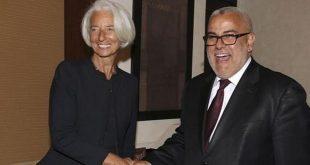 Christine-Lagarde-et-Abdelilah-Benkirane