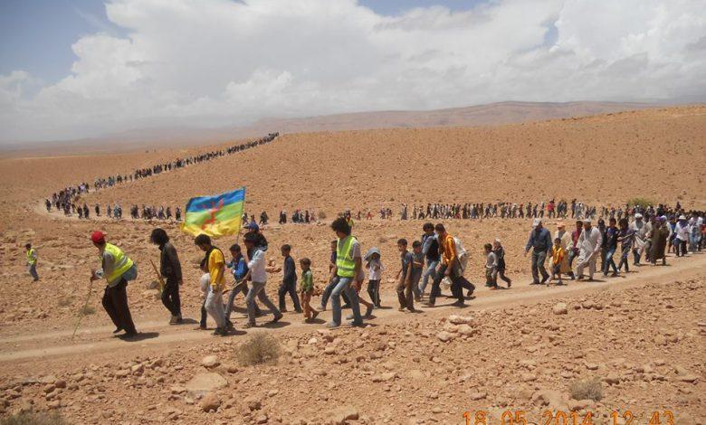 صورة الذكرى الخامسة لمعتصم إيمضر : الصمود والكفاحية أمام تعنث خدام الرأسمالية