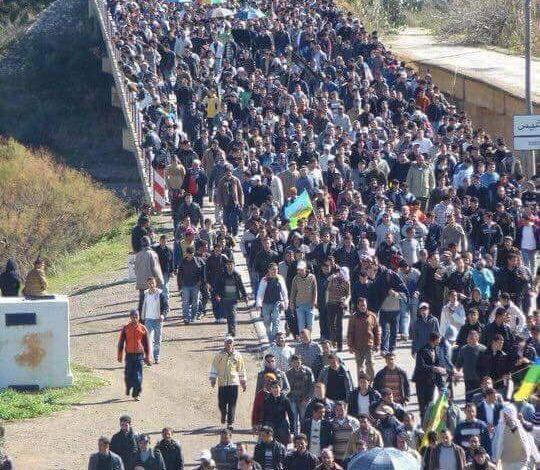 صورة نداء أطاك المغرب : انتصارا لوحدة النضال الشعبي ضد سياسات التخلف والفقر والتبعية، لنشارك جميعا في مسيرة 20 يوليوز 2017 بالحسيمة، لنرفع عاليا صوتنا للمطالبة بإطلاق سراح المعتقلين وتحقيق مطالب الحراك