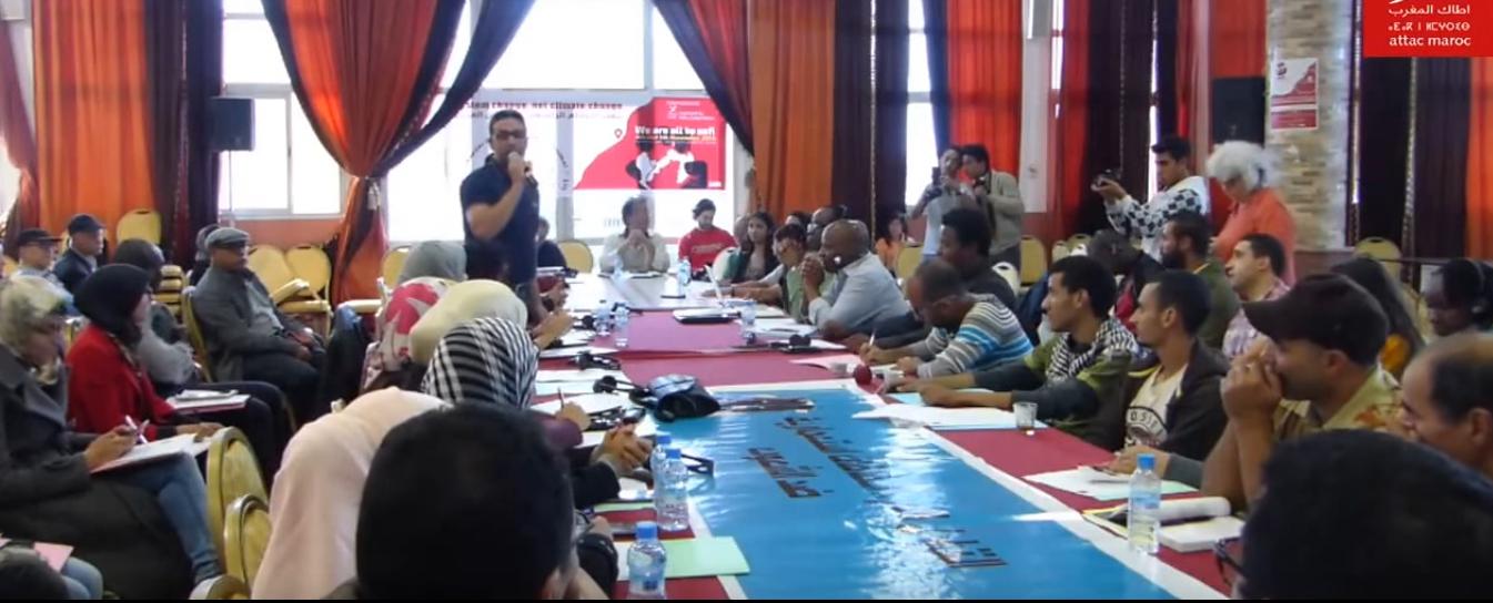 Déclaration de Safi:« Changeons le système pas le climat »