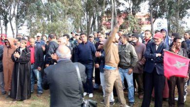 صورة المجموعة المحلية لاطاك المغرب بالرباط: كل التضامن مع ساكنة اولاد اسبيطة