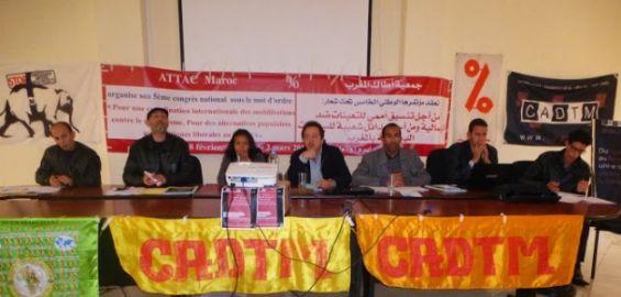 صورة مؤتمر أطاك المغرب: جمعية محاصرة تقاوم