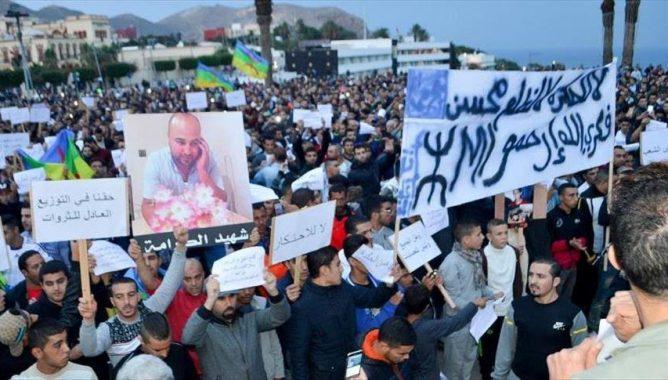 صورة الريف: حملات القمع والاعتقال لن توقف لهيب الشعب الناشد لغد أفضل