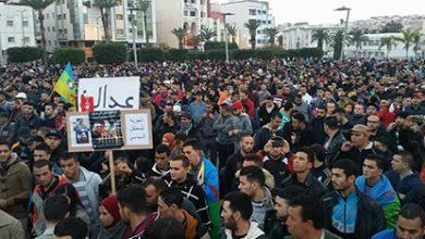 صورة انتفاضة الريف: من الشعب يريد إلى عاش الشعب