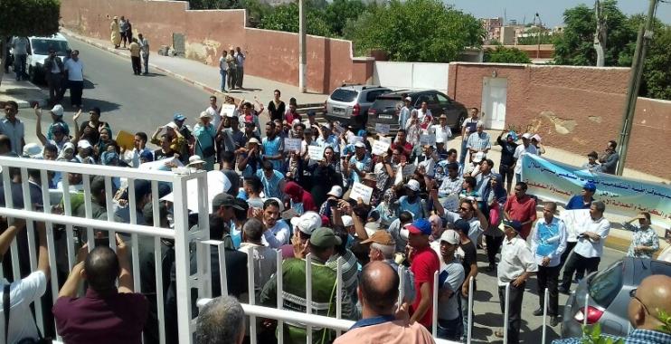 صورة زيارة الوفد الحكومي لجهة بني ملال خنيفرة: محاولة اطفائية لا غير