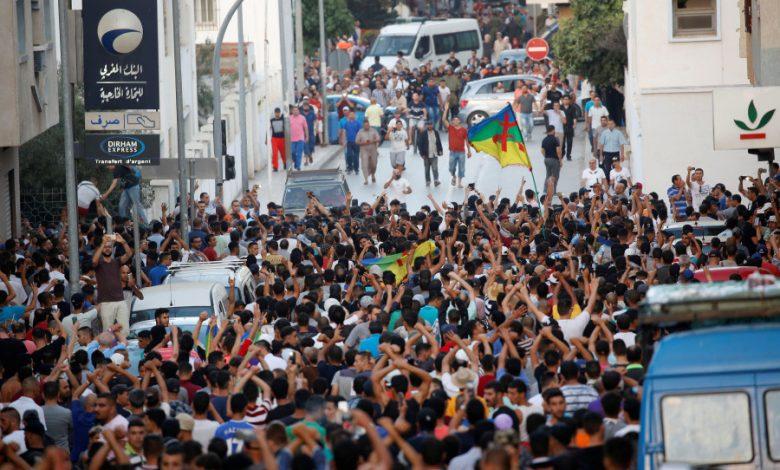 صورة تقرير حول مشاركة جمعية أطاك المغرب في مسيرة الحسيمة يوم 20 يوليوز