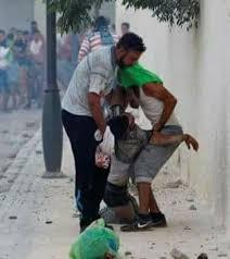 صورة عماد العتابي وغازي خلادة : شهداء شعب، جرائم دولة