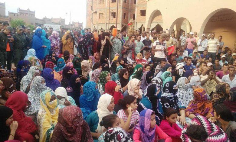 صورة زاكورة: القمع و الاعتقالات  حلول الدولة لإخماد حراك العطش