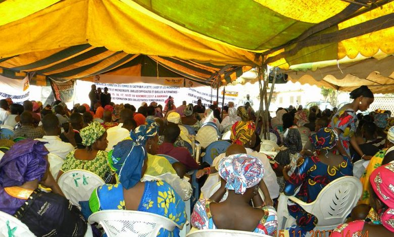 صورة البيان الختامي للندوة الدولية حول: النساء و الديون والقروض الصغرى المنعقد في بماكو ما بين 15 و19 نونبر 2017