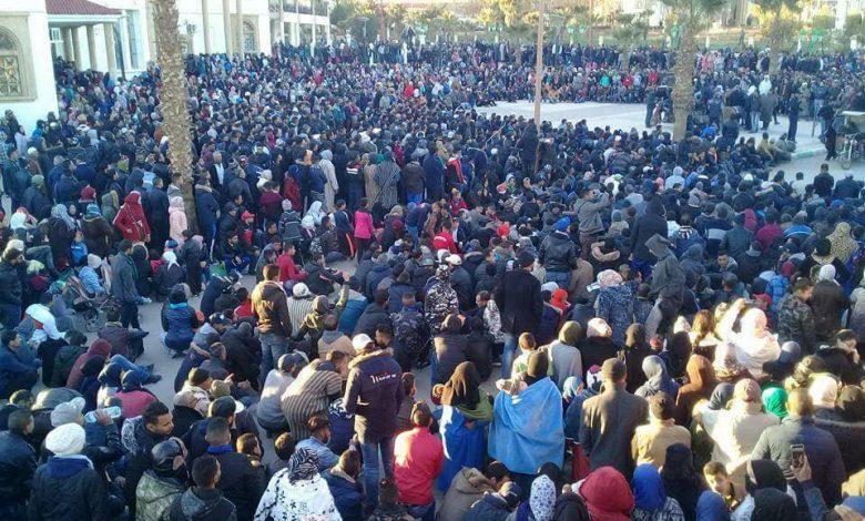 صورة بيـان أطاك المغرب: جرادة المدينة المنجمية تنتفض احتجاجا على أوضاع البؤس و التهميش