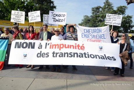 صورة الحملة الدولية للمطالبة بسيادة الشعوب وتفكيك قوة الشركات المتعددة الجنسيات