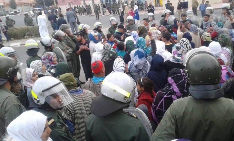 صورة الصحة للجميع:  شعار احتجاجات سكان مدينة بويزكارن.