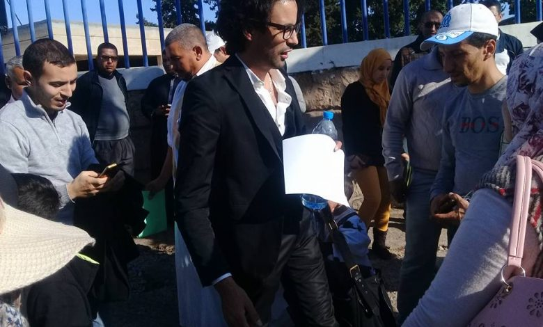 صورة تقرير حول مشاركة أطاك المغرب مجموعة إنزكان في الوقفة التضامنية مع الطبيب المهدي الشفعي