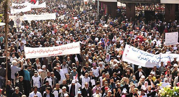 النضال العمالي اطاك المغرب