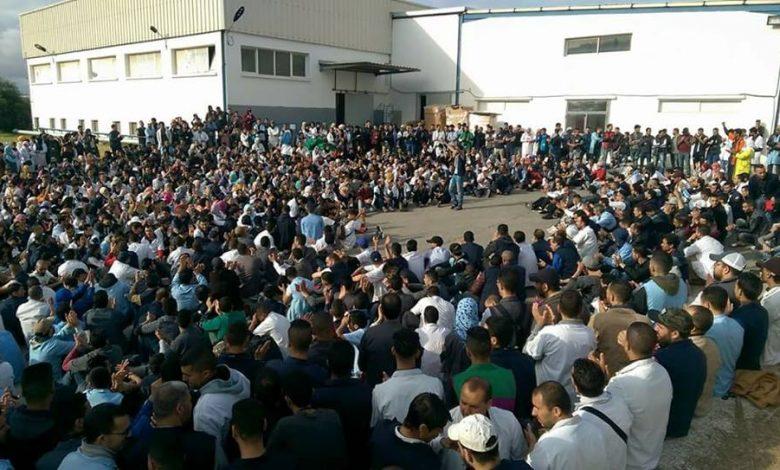 صورة بيان جمعية أطاك المغرب  ندين بشدة التدخل القمعي في حق عاملات وعمال شركة دلفي للكابلاج المضربين