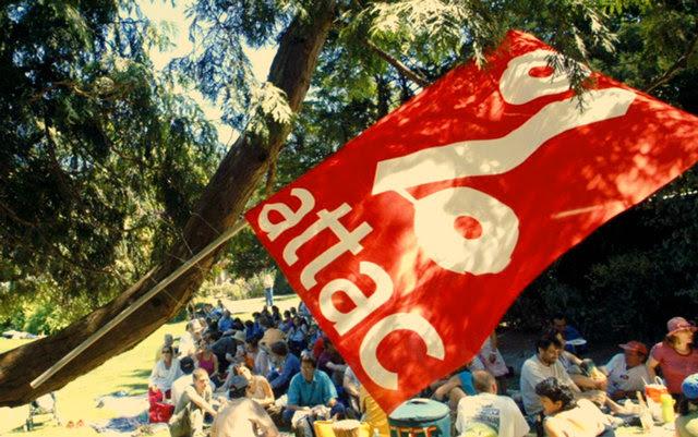 صورة أطاك ( ATTAC ) ولجنة إلغاء الديون غير الشرعية  20عاما من النضال المشترك