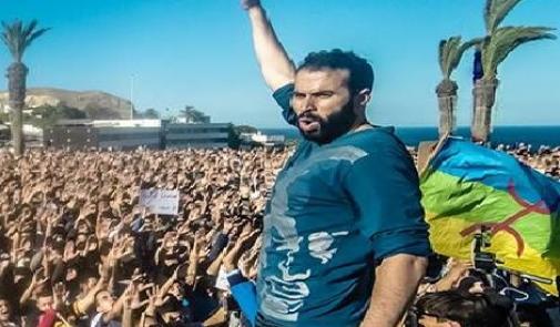 """صورة نبيل أحمجيق """"دينامو"""" الحراك الشعبي بالريف"""
