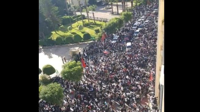 صورة جمعية أطاك المغرب تحي احتجاجات تلامذة المغرب وتدعو إلى تعميم النضال ضد فرض حكومة التقشف للتوقيت الصيفي