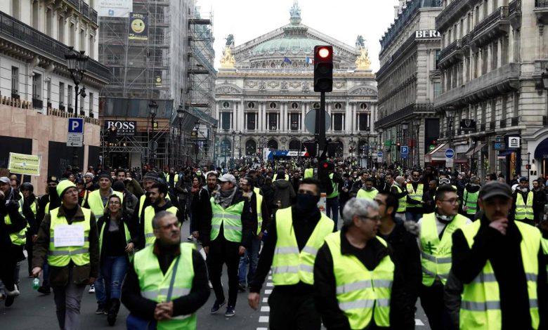 صورة فرنسا: السترات الصفراء نظرة عن قرب