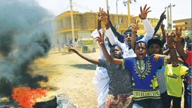 صورة كل الدعم لثورة الشعب السوداني في وجه نظام الديكتاتورية العسكرية وحلفاؤه الإقليميين والدوليين