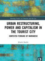 كتاب جديد : مؤلف مغربي يكتب عن آثار النيوليبرالية على العمران والوضع الاجتماعي في مراكش