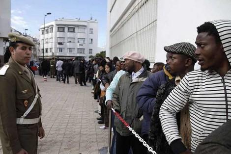 صورة مهاجرو إفريقيا جنوب الصحراء، تحت نير الرأسمال الفلاحي بالمغرب