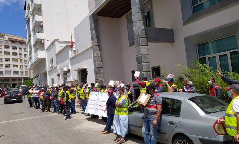 """صورة عمال شركة أمنور بطنجة ،أكثر من 140 يوم من الصمود ضد جائحة """"محاربة العمل النقابي"""""""